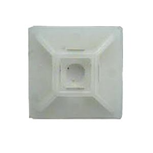 ISL 28 x 28mm Cable Tie mounting Base - Nat - 100pk