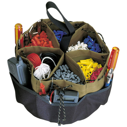 22 Pocket Drawstring Bucket Bag**