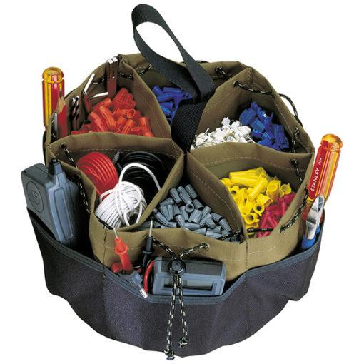 Kuny's 22 Pocket Drawstring Bucket Bag**