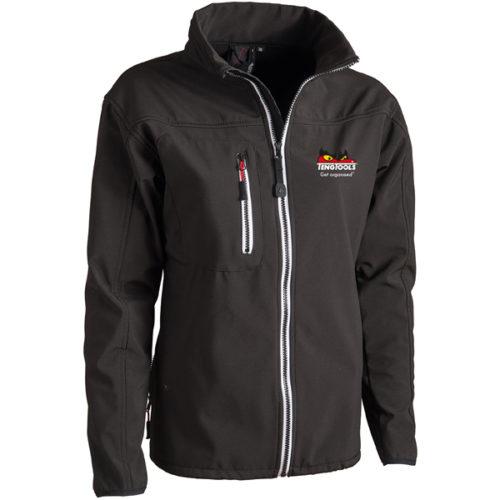 Teng Soft-shell Jacket (Black) - Med