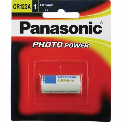 Panasonic 3V Lithium CR123A Camera Battery