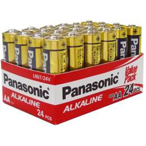 Panasonic AA Battery Alkaline (24pk)