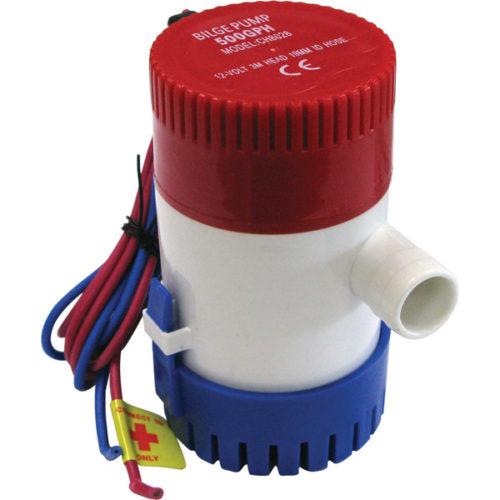 ProMarine 12V Non-Automatic Sump/Bilge Pump - 500gmph