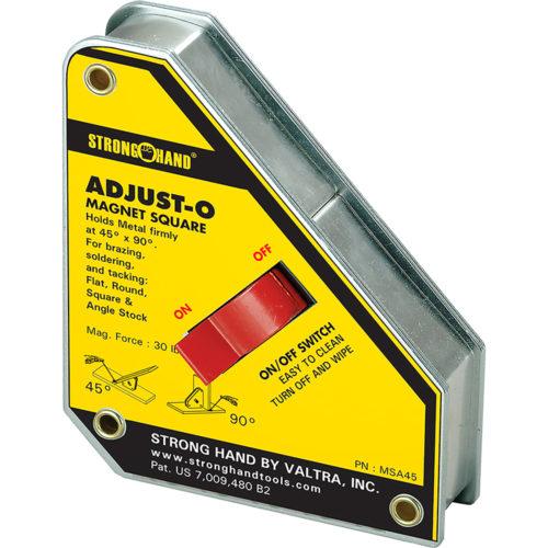 Stronghand Adjust-O Magnet Square 45/ 90deg. 35KG