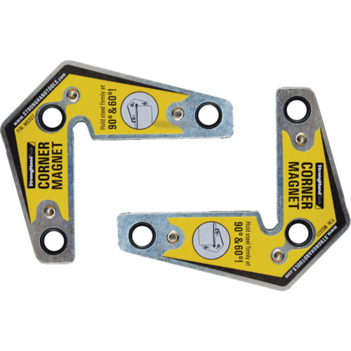Stronghand Corner Magnet Twin Pack