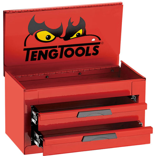 Teng 2-Dr. Mini Tool Box w/ Eyes