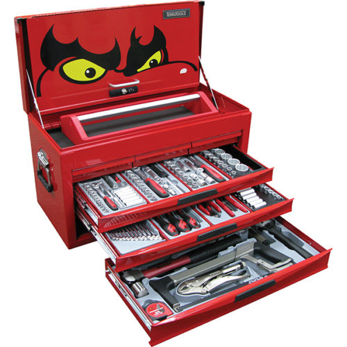 152PC TENGTOOLS MM/AF STARTER TOOL KIT (NF)