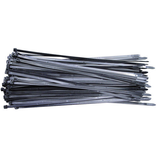 CV300W Cable Tie 300 x 7.6mm Black Pack of 100