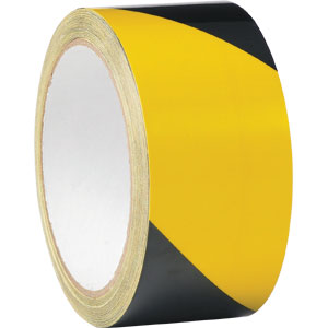 NZ Tape Line Marking Tape Yellow/Black 48mm x 33m