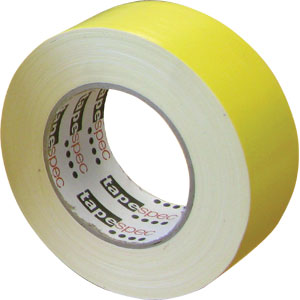 NZ Tape Waterproof Cloth Tape Premium 48mm x 30m - Yellow