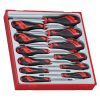 12PC MD SCREWDRIVER TORX (TX) SET