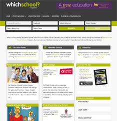 WhichSchool_Website