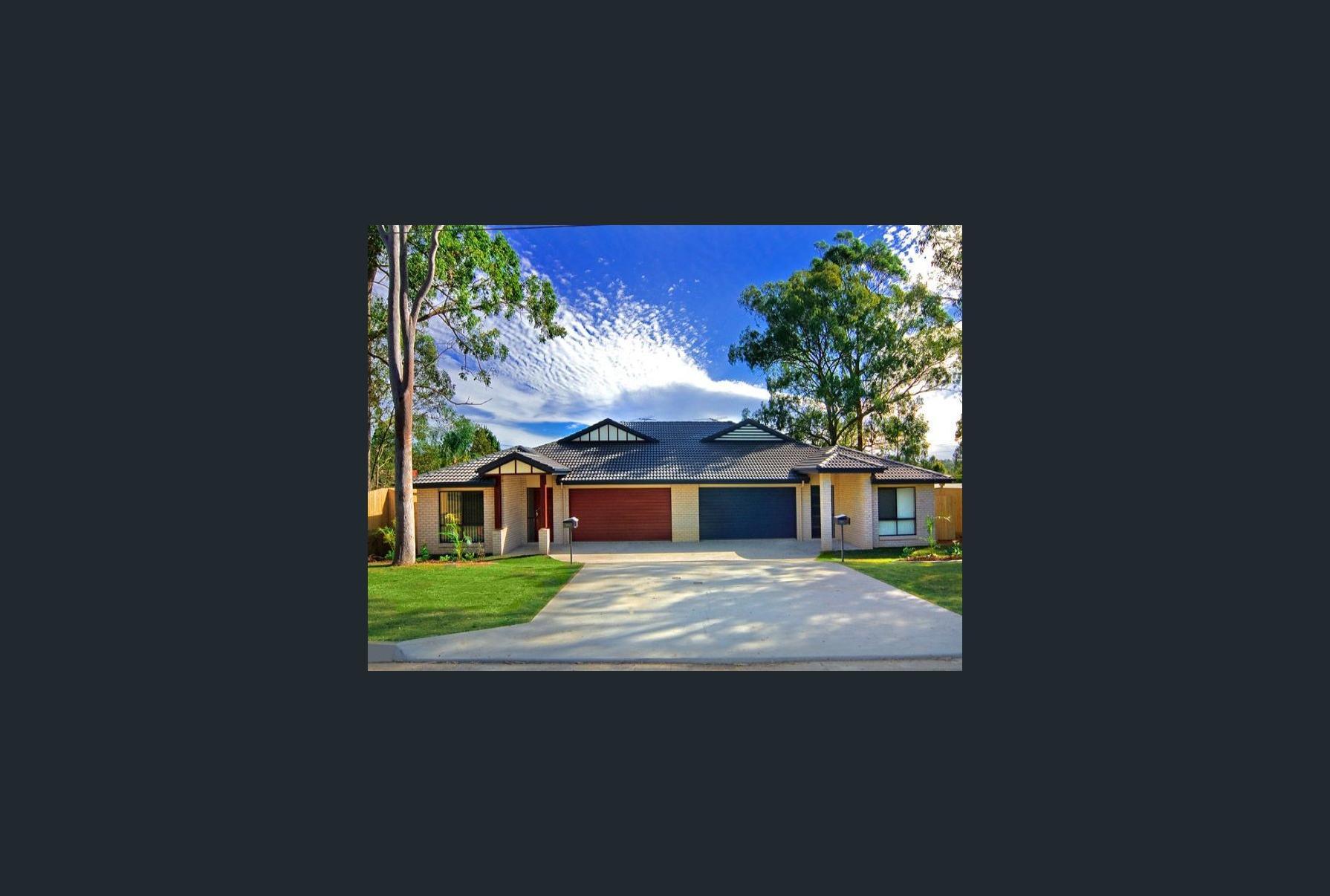 Modern Single Storey Duplex