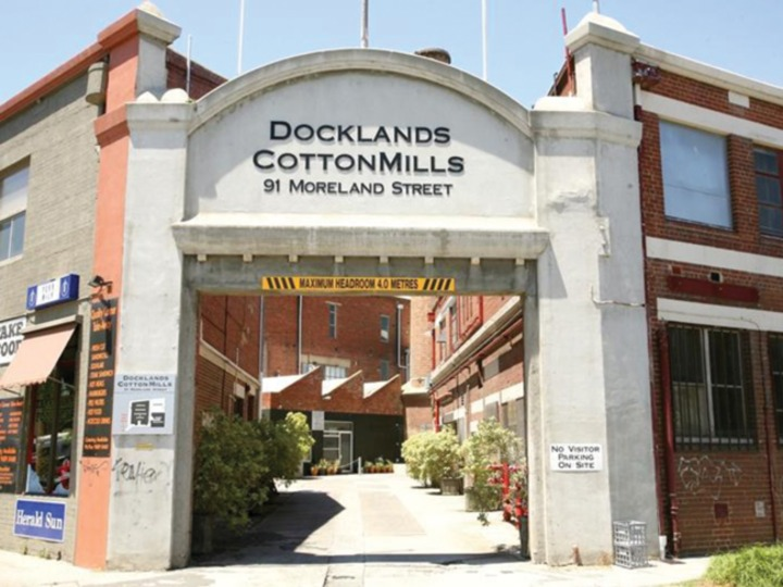 Factory 59 Docklands CottonMills