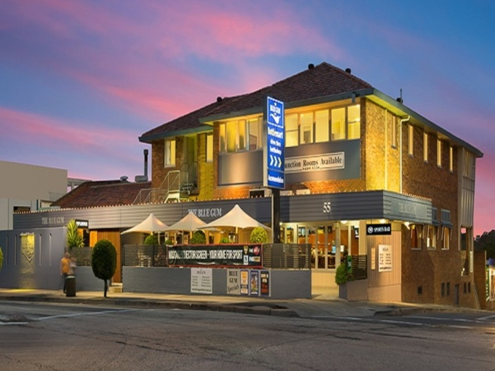 The Blue Gum Hotel