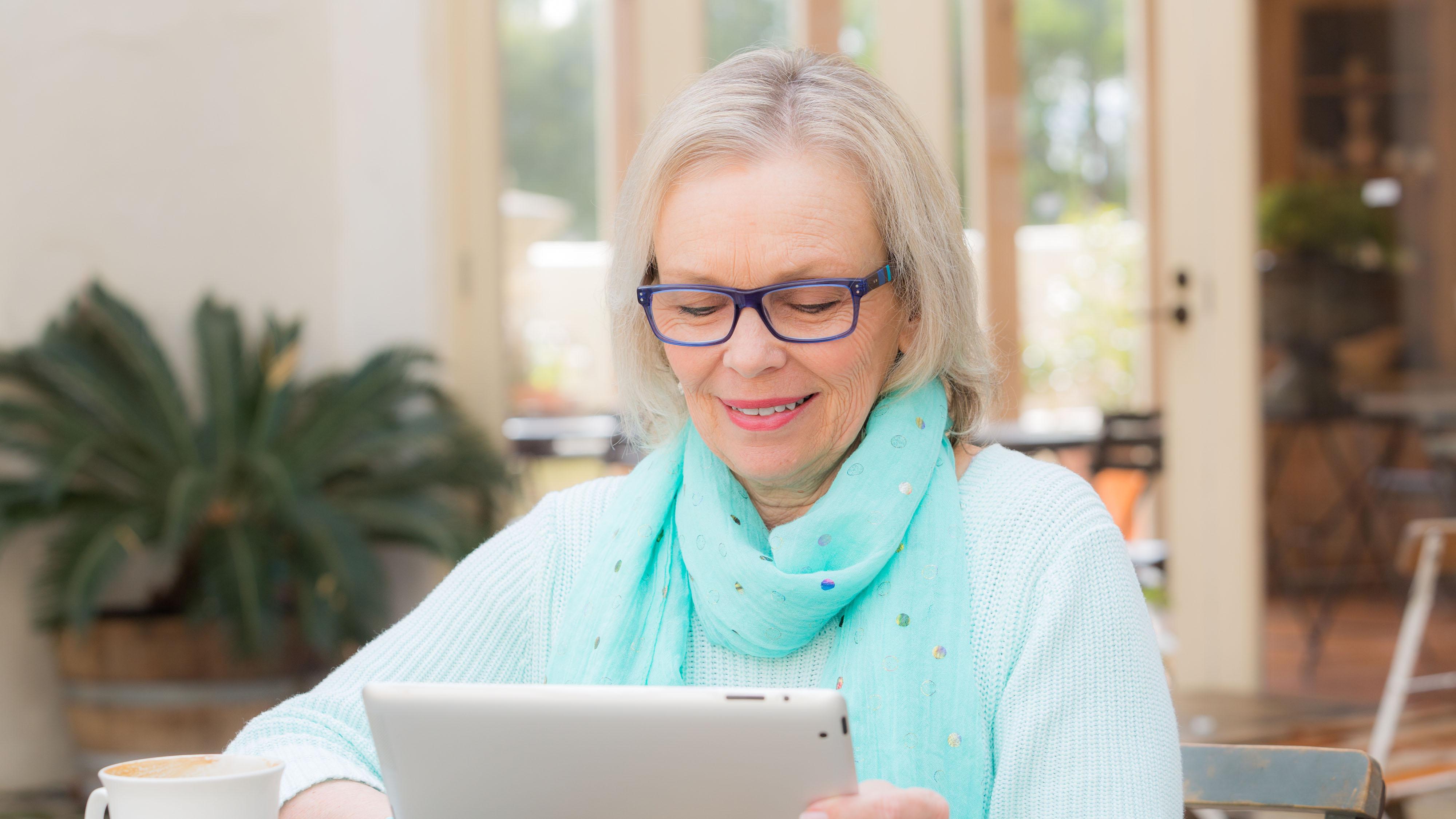 Ipad For Seniors Cae