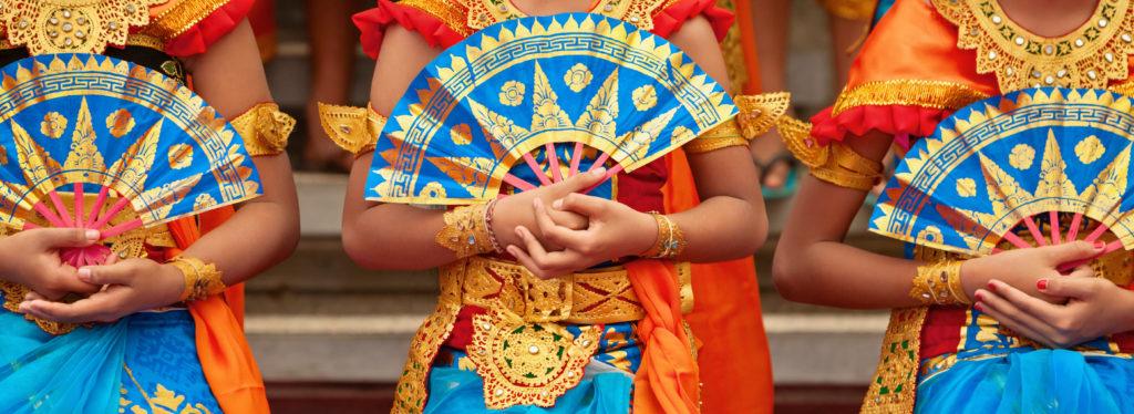 Balinese fans