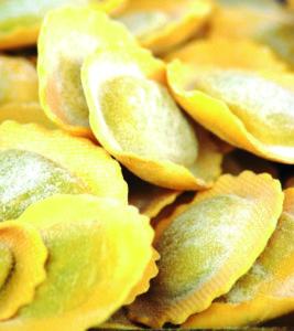 Fresh pasta - notify before use on SXC