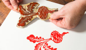 Craft Project Article_Paper Linocuts