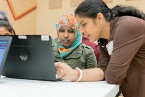 Volunteers computers
