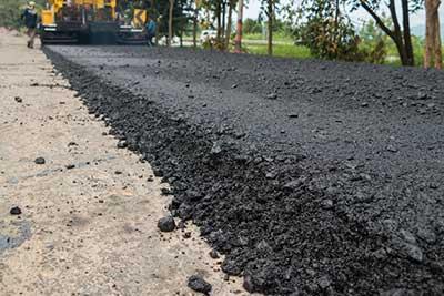 driveway asphalt long pour