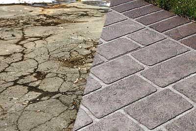 remove old concrete driveway