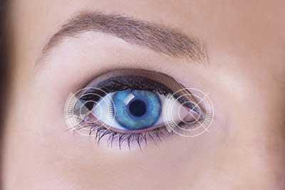 laser corrected eyes