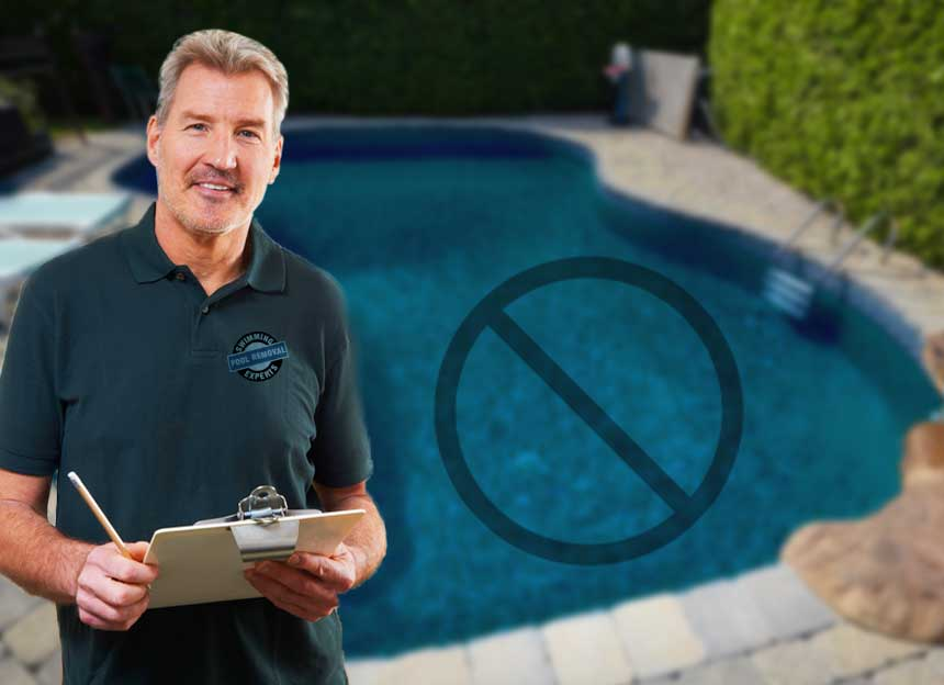 pool removal experts