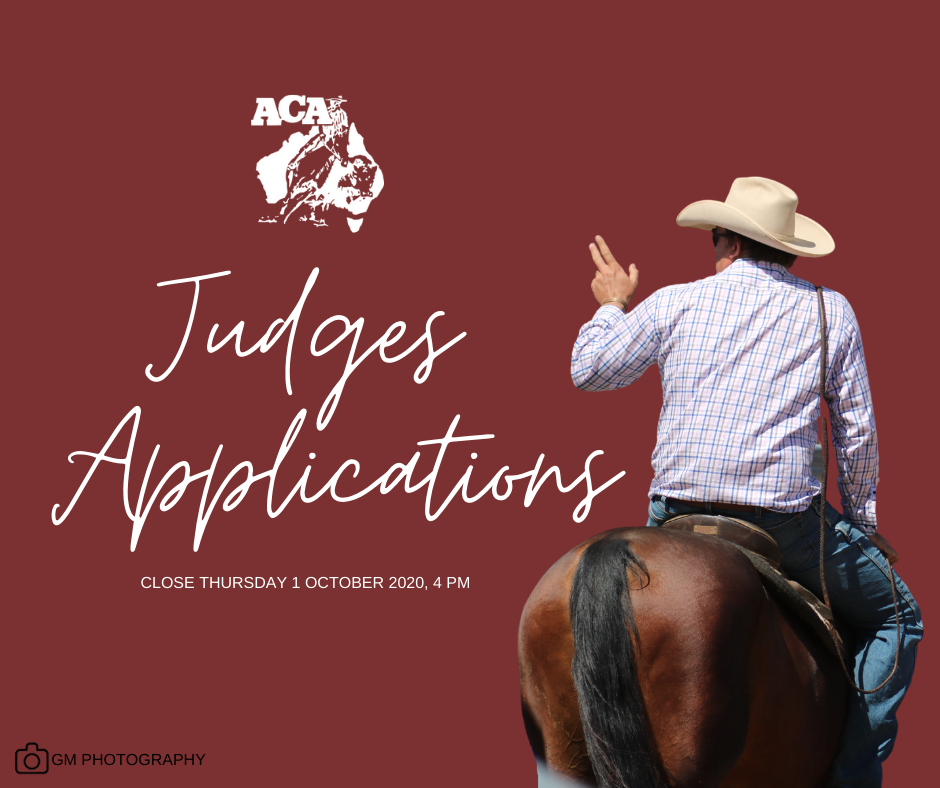 Trial and Open Judges Applications!