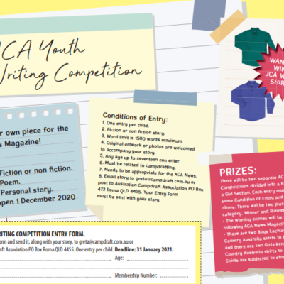 ACA Youth Writing Competition