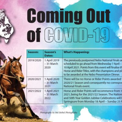 COVID 19 Campdrafting