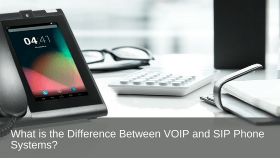 Difference between Voip and SIP phone systems