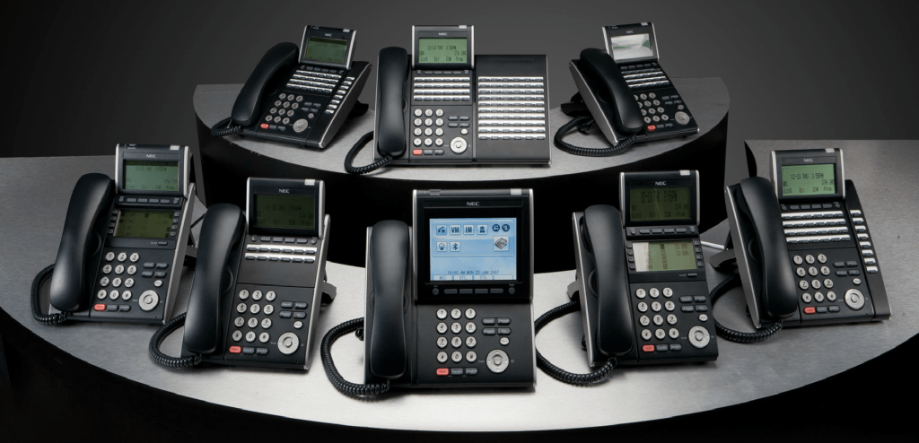 NEC handset user guides