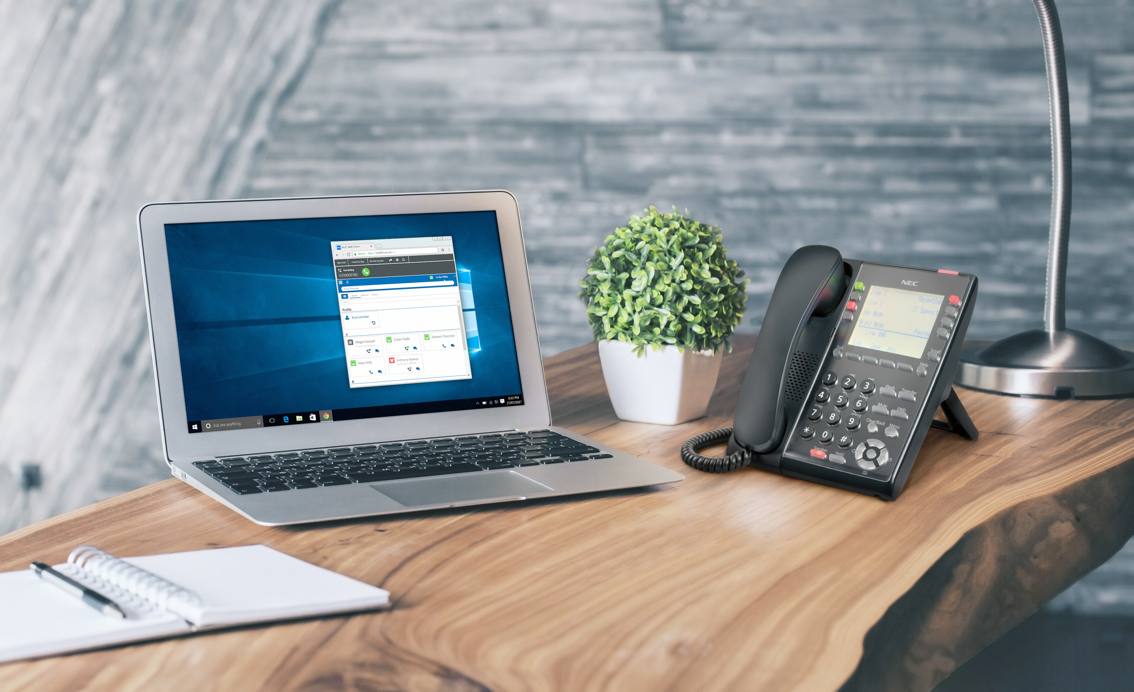NEC telephone systems support sl2100