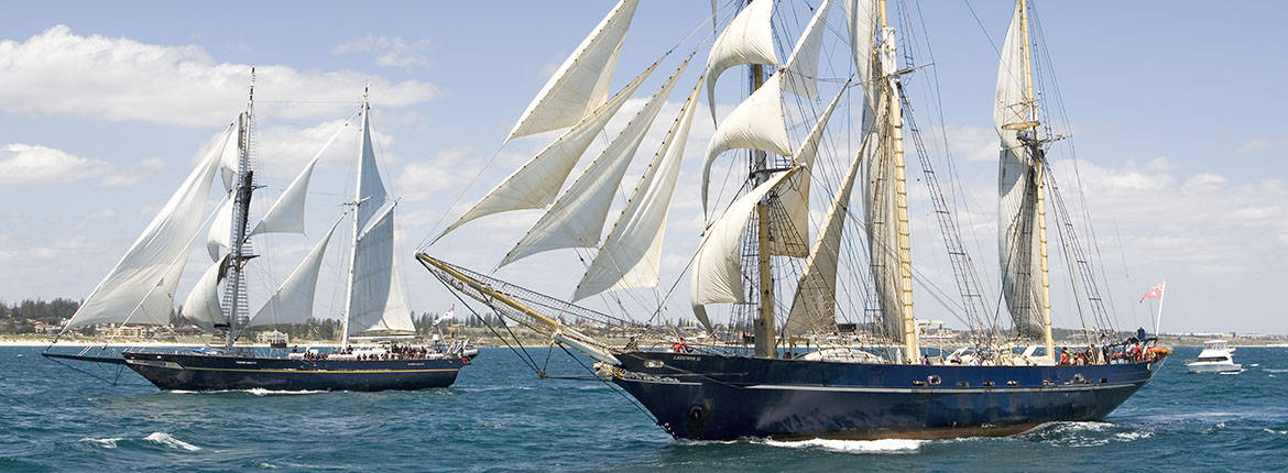 Tall Ships Regatta  Captain Cook Cruises