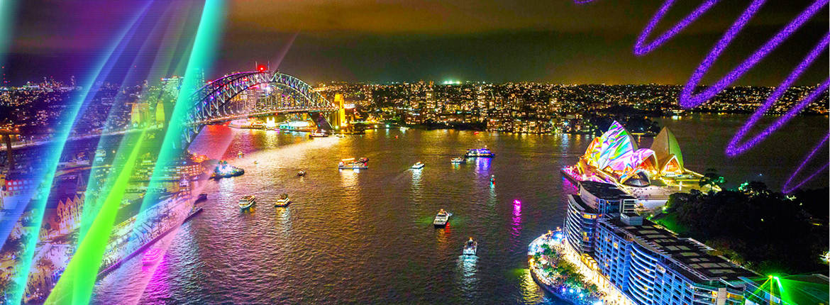 Weekender Vivid Sydney Hot Deal banner