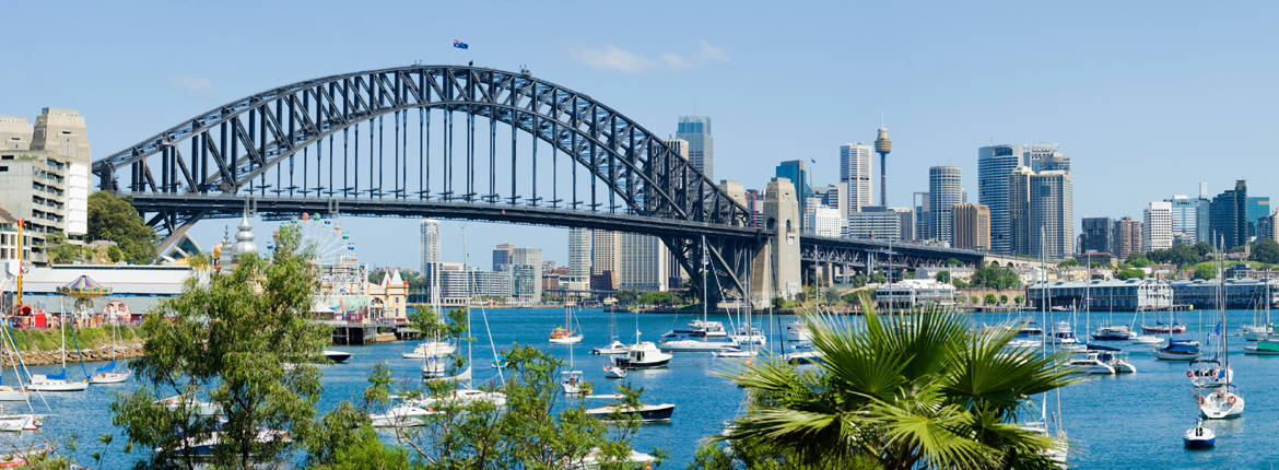Be Inspired by Sydney Harbour banner