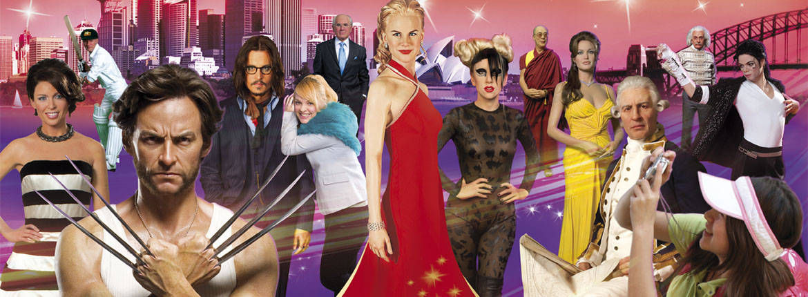 24 Hour Pass and Madame Tussauds banner