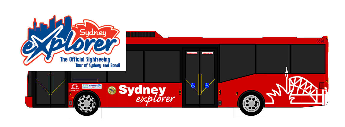 2 Day Pass and Explorer Bus banner
