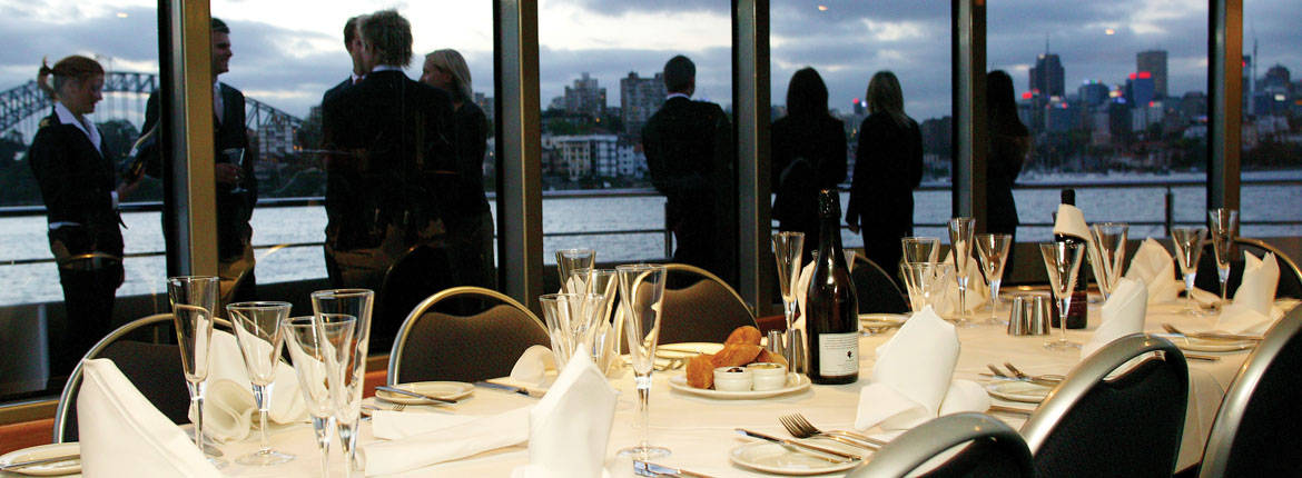 Private Dining Room banner. Private Charters  Private Dining Room Cruises   Captain Cook Cruises