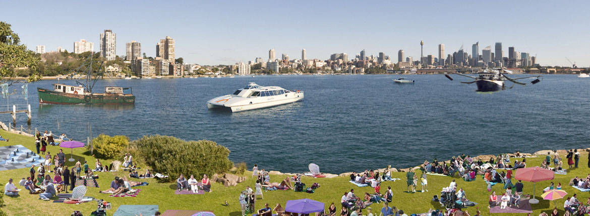 AusDay Shark Island Picnic banner