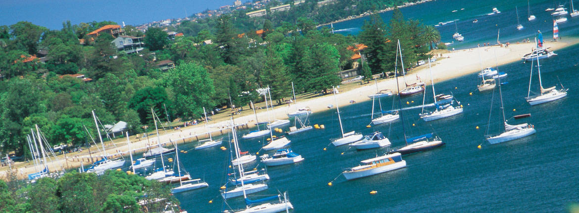 Watsons Bay - Manly Sightseeing Ferry banner