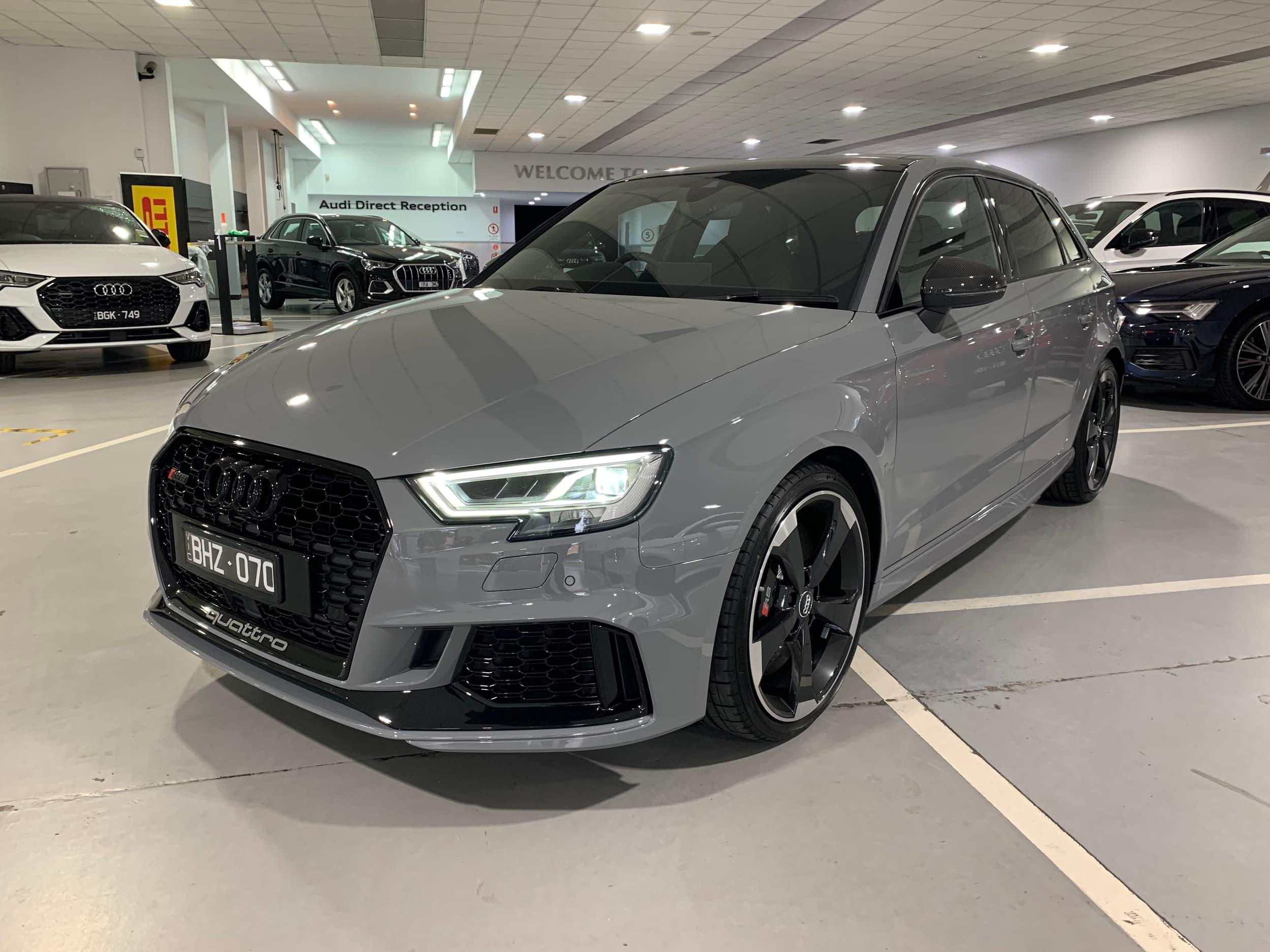 2020 Audi Rs3 Carbon Edition Auto Quattro My20 Car Subscription