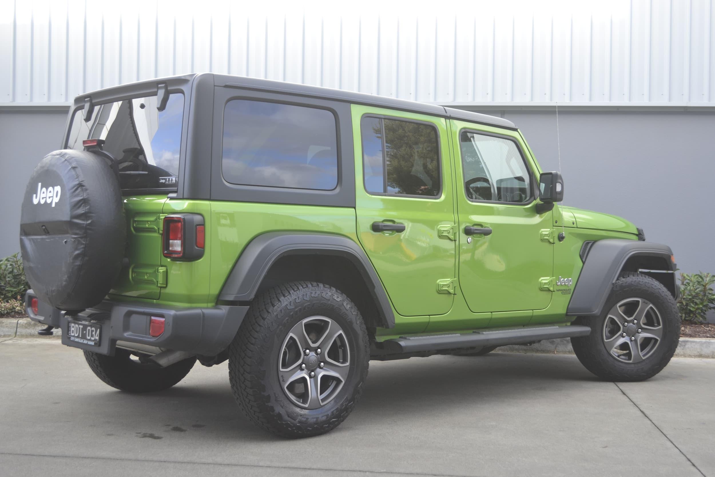 2019 Jeep Wrangler Unlimited Sport S Auto 4x4 MY19 - image 19