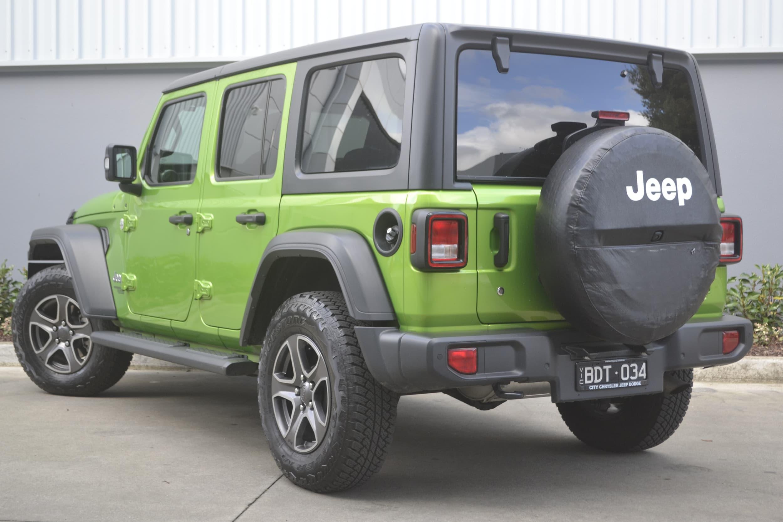 2019 Jeep Wrangler Unlimited Sport S Auto 4x4 MY19 - image 25