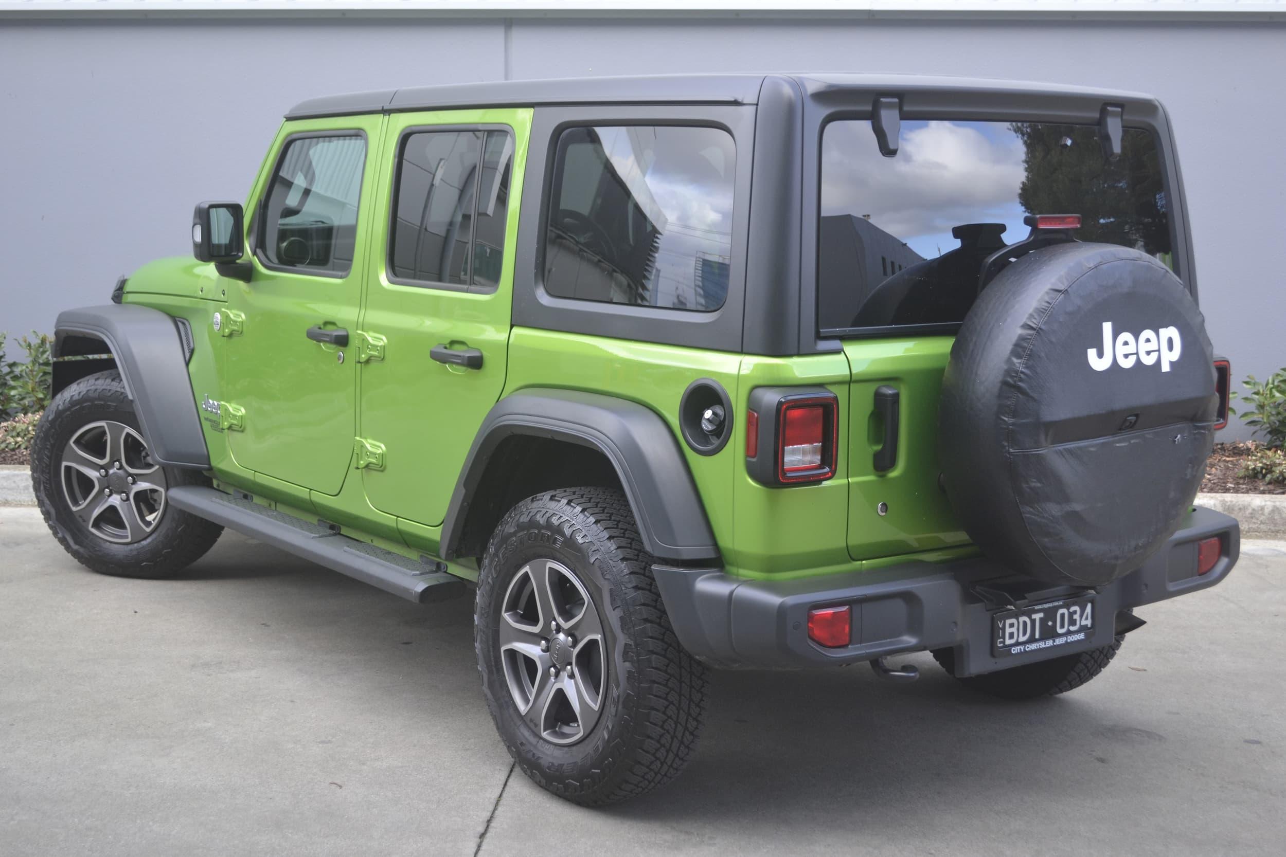 2019 Jeep Wrangler Unlimited Sport S Auto 4x4 MY19 - image 29