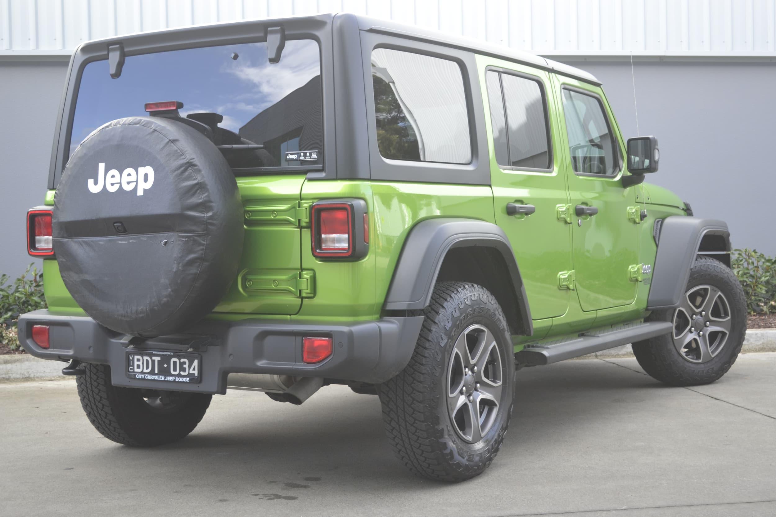 2019 Jeep Wrangler Unlimited Sport S Auto 4x4 MY19 - image 3