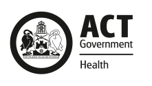 ACT Government - Canberra Health Services
