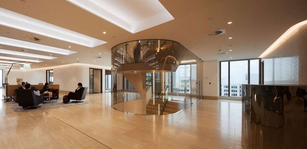 DLA Piper Office Foyer
