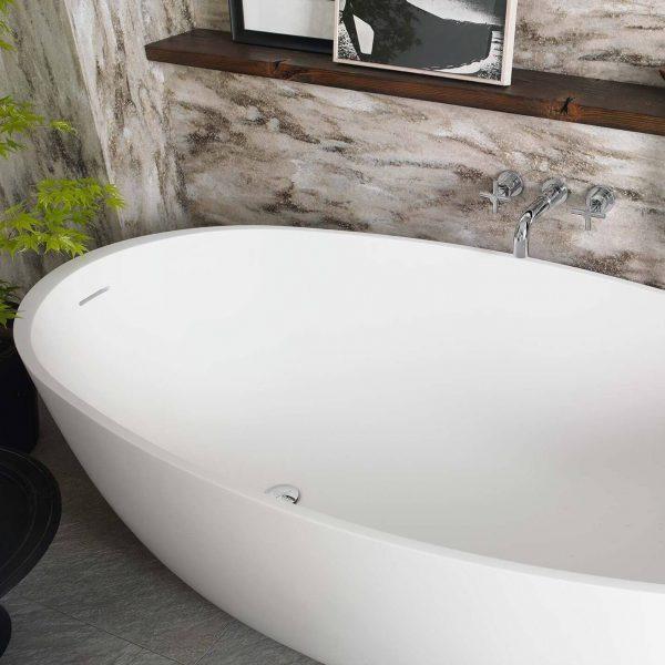 CASF corian bath delight 18430BATH freestanding